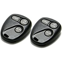 Pair of OEM Electronic GM 3-Button Keyless Entry Remote (FCC ID: ABO1502T / P/N: 16245100-29, 16245105)