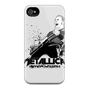 Iphone 6plus EZL15615IFwj Support Personal Customs Stylish Metallica Skin Protector Hard Cell-phone Case -ErleneRobinson
