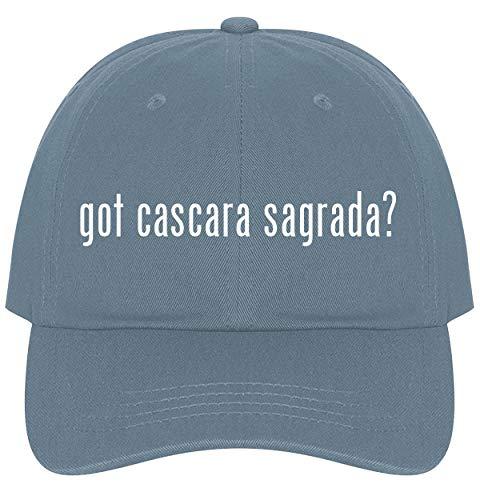 The Town Butler got cascara Sagrada? - A Nice Comfortable Adjustable Dad Hat Cap, Light Blue