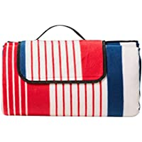 Kitchen Warehouse Picnic Blanket 200x180cm Coastal Stripe