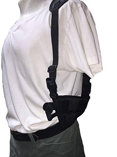 Deluxe Nylon Holster - Nylon Horizontal Deluxe Shoulder Holster Fits Ruger Mark 2, 22/45 Mark 3, P95, P97, SR9