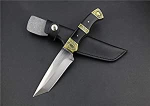 FARDEER Knife Cuchillo de Supervivencia,Cuchillos de Hoja Fija, Cuchillo de Caza para Acampar Caza Senderismo Pesca