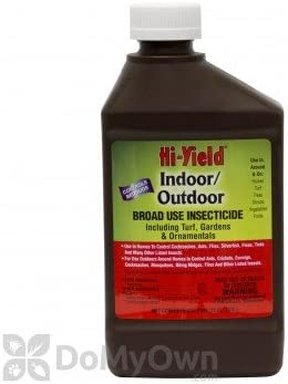 hi-yield Indoor/Outdoor 10% permetrina insecticida pinta (16 oz ...
