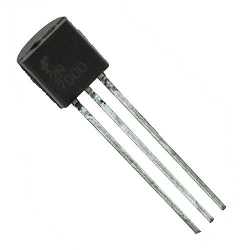 100 pcs 2N7000 MOSFET N-CHANNEL 60 Volts 0.2 Amps