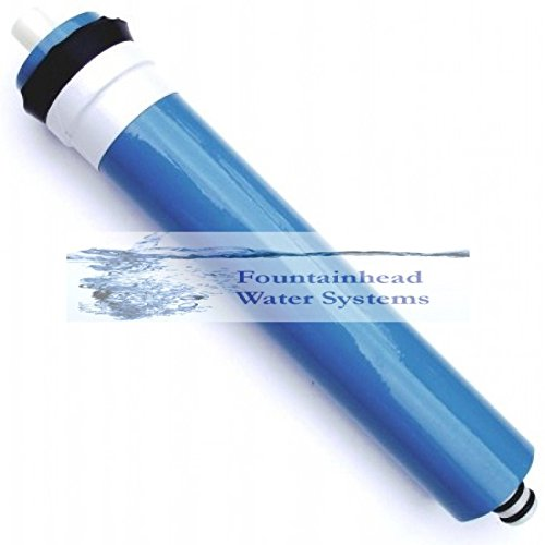 REVERSE OSMOSIS MEMBRANE 100 GPD. STANDARD SIZE FITS MOST REVERSE OSMOSIS SYST