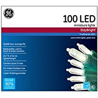 100-Count GE Energy Smart LED Light 24.75-ft Miniature Warm Set