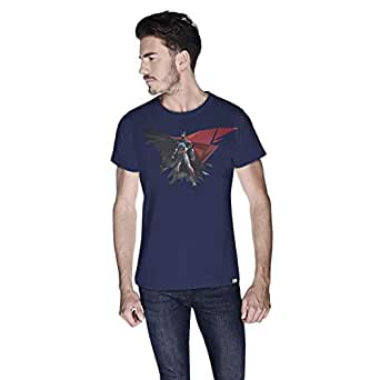 Creo Batman Power T-Shirt For Men - Xl, Navy