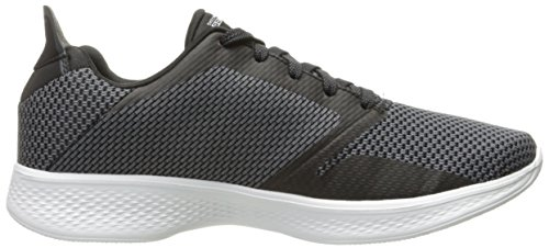 Skechers Performance Womens Go Walk 4 Fascinate Nero / Bianco
