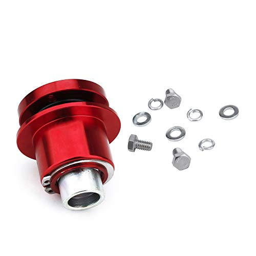 - CNSPEED Universal Steering Wheel Quick Release Hub Boss Kit Wheel Hub Adapter For 3 hole Steering Wheel Hub