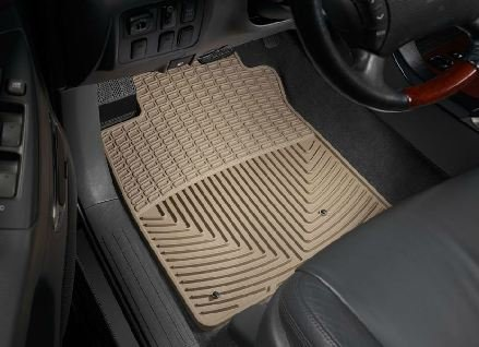 2003-2011 Lexus GX Tan WeatherTech Floor Mat (Full Set)