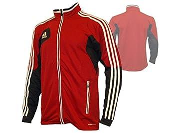 Adidas Condivo 12 Chaqueta de Entrenamiento/Top de fútbol, Football, Deportes Rojo: Amazon.es: Deportes y aire libre