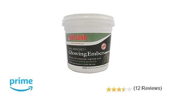 Amazon.com: Rutland 585 Bright Glowing Embers for Gas log: Home ...