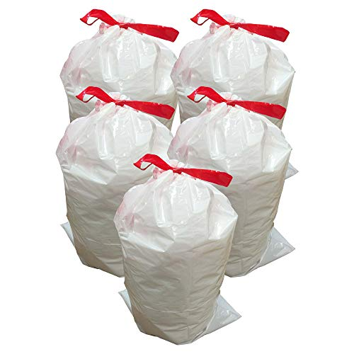 50 Replacement Garbage Bags for Simplehuman Trash Bins, 30L