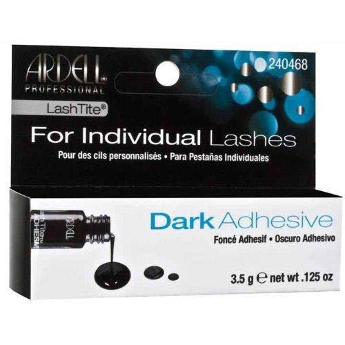 (Ardell LashTite Individual Lash Adhesive Dark 0.12-Ounce / 3.5 g.)