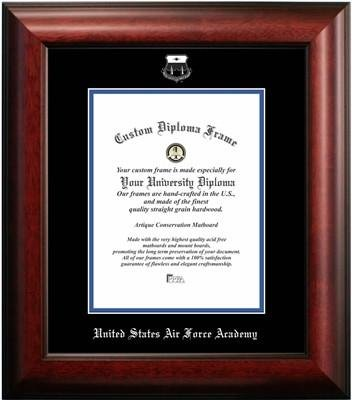 United States Air Force Academy Graduation Certificate Frame