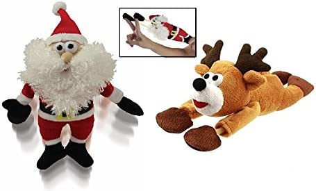 Kovot Santa Reindeer Sound Flingshot Set 1 Santa And 1 Reindeer Included Gag Toys Practical Jokes Amazon Canada