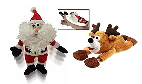1 Santa (KOVOT Santa & Reindeer Sound Flingshot Set - 1 Santa and 1 Reindeer)