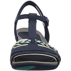 Clarks Women's Tealite Grace Wedge Heels Sandals, 6.5 UK