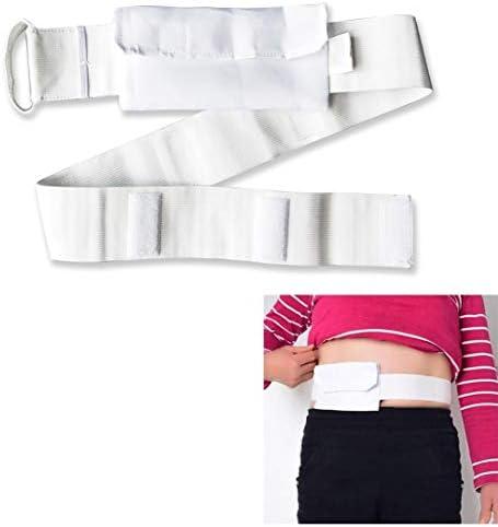 患者のための腹部透析ベルト患者の排水管のカテーテル固定ベルト再利用可能なウォッシャブル医療看護ベルト (Color : 3pac)