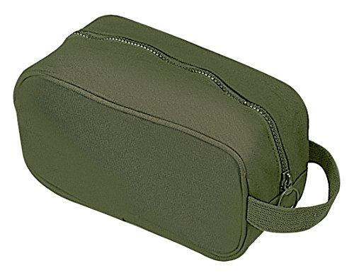 Rothco Canvas Travel Kit, Olive Drab (Hygiene Bag)