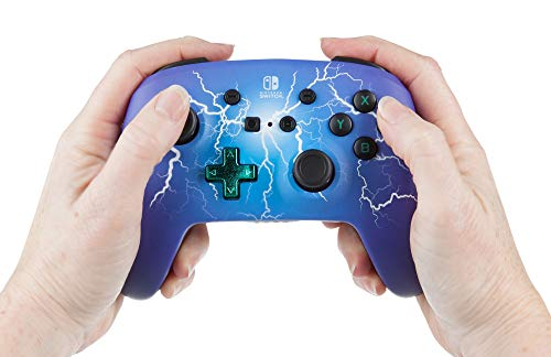 PowerA Enhanced Wireless Controller for Nintendo Switch Spider Lightning 5