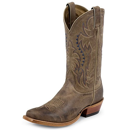 Nocona Boots Men's Legacy L Toe Boot,Tan,14 D US