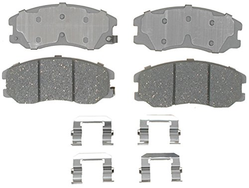 ACDelco 14D1264CH Advantage Ceramic Front Disc Brake Pad Set with Hardware