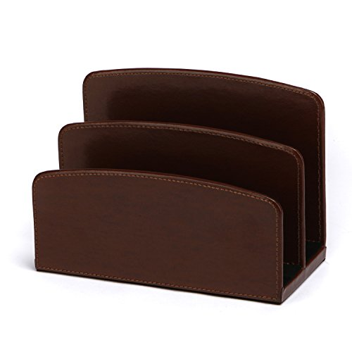 - C.R. Gibson Bonded Leather, Letter Sorter by Markings, Measures 7.75