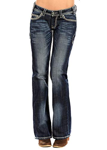 Rock and Roll Cowgirl Women's Riding Jeans ()