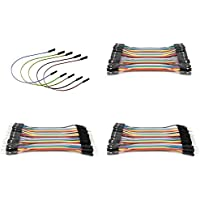 Many Helicopter Quadcopter Airplane Boat Car Controller [QTY: 1] Dupont 40 Qty 10cm 2.54mm 1pin Female to Jumper Wire Cables [QTY: 1] Male [QTY: 1] [QTY: 1] 20cm Wires Connector Cable 1p 5 Colors Yell