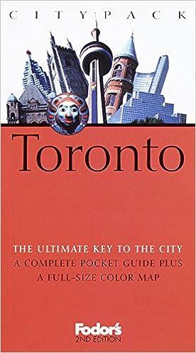 Book Fodor's Citypack Toronto, 2nd Edition (Citypacks)