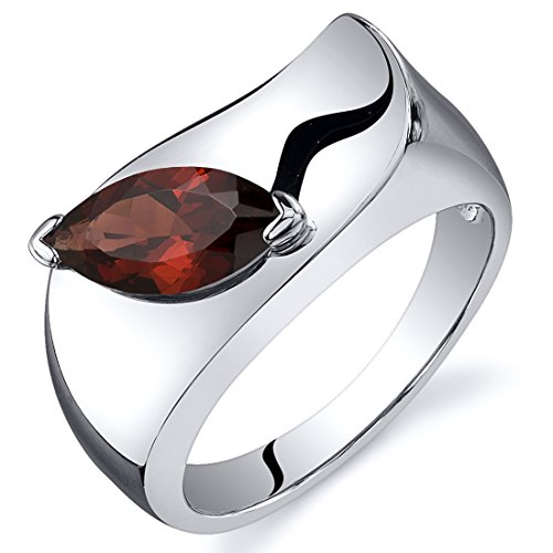 garnet-ring-sterling-silver-rhodium-nickel-finish-marquise-shape-125-carats-size-9