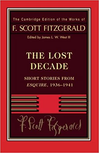 Image result for The Lost Decade fitzgerald