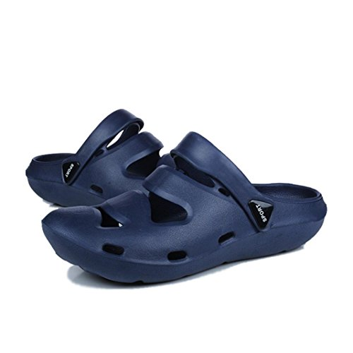 Unisex Cute Running Slippers Breathable Flip Dance Blue Sandals Shoes VEMOW Trainers Espadrilles Anti Walking Thongs Shower Couple Slip Comfort Beach Casual Flats Flops Sandals nIOvxq