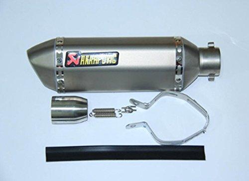 (scooter SPEED SCORPION Akrapovic Motorcycle Exhaust Muffler With DB Killer ATV Yoshimura Exhaust Silencer For Z750 CRF230 FZ16 (D Model like Titan))