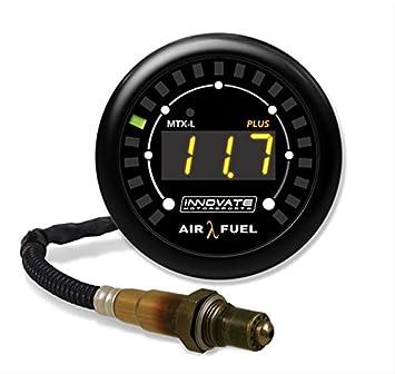 Innovar 3918 mtx-l Plus Digital Wideband Aire/Fuel Ratio Gauge Kit, Negro