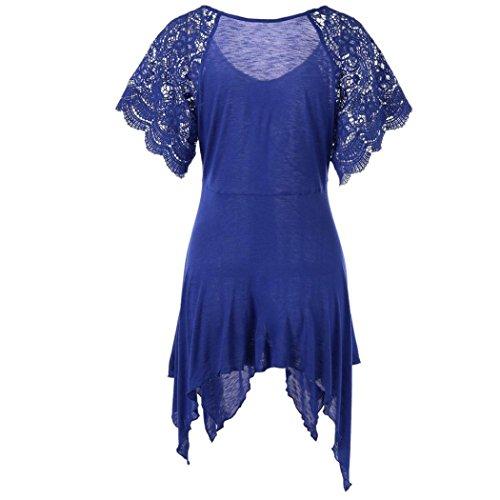Giacca Corta A Blau Animali Punta Tonda Bhydry Camicia Manica Stampa Donna wCH5nRq
