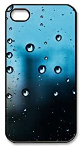 Art Fashion Black PC DIY Generation Back For Apple Iphone 5/5S Case Cover with Droplet