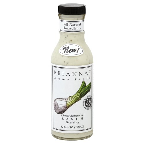 Brianna's Classic Buttermilk Ranch, 12 oz (Pack of 6)