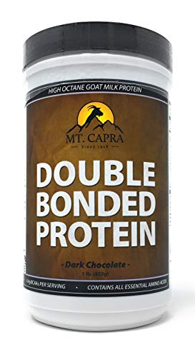 (MT. CAPRA SINCE 1928 Double Bonded Protein - Dark Chocolate - 1 Lb, 1 Pound)