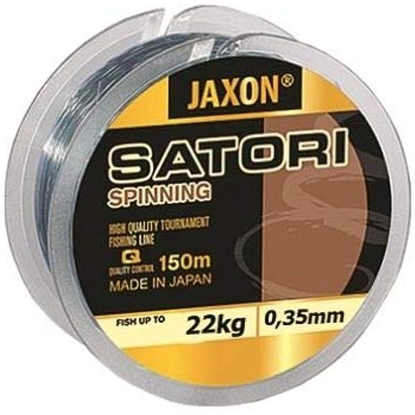 Jaxon Satori Spinning - Hilo de pesca (monohilo, 150 m), 0,16mm ...