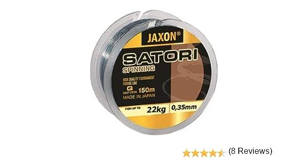Jaxon Satori Spinning - Hilo de pesca (monohilo, 150 m), 0,16mm / 6kg: Amazon.es: Deportes y aire libre