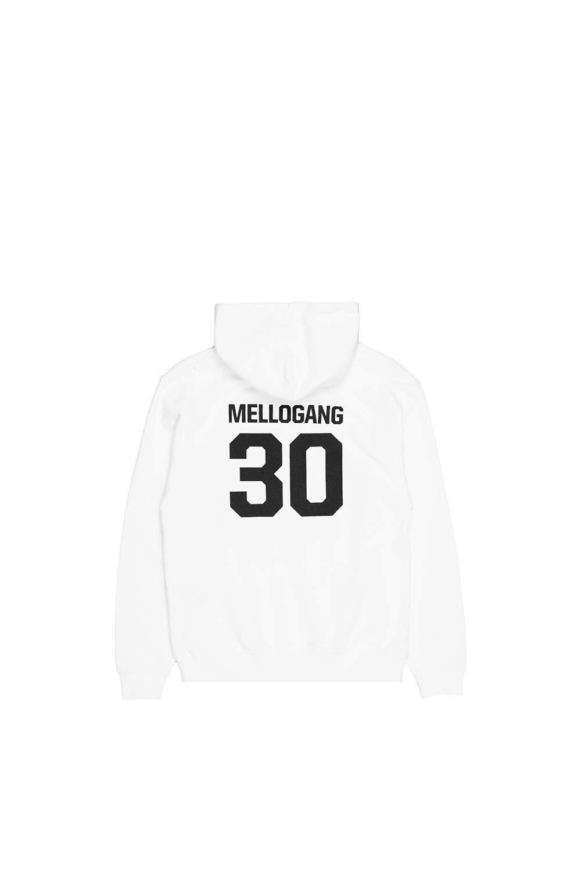 Marshmello Mellogang 30 Hoodie (Youth) Hooded Sweatshirt - Authentic Kids Merchandise White