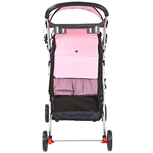 Pink Pet Stroller, Carrier and Car Seat All-in-One by Discount Ramps (Image #5)