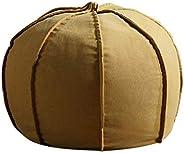 Bean Bag Chair Foam Filled Bean Bag Chair, 60 * 61 * 51Cm Sofa Sack for Kids Teens Adults Zipper for Easy Remo
