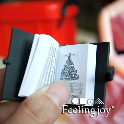 1:6 Scale Dollhouse Miniature Gold Holly Bible Religious for sale  Delivered anywhere in USA
