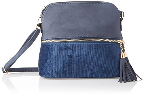 navy body Blue Iris Day Crossbody Women's Cross Swankyswans Bag pq8PfXx