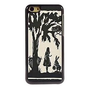 HP Cartoon Tree Design Aluminum Hard Case for iPhone 5C