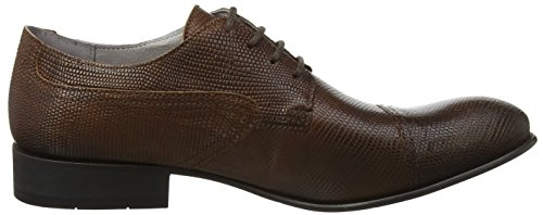 FLY London Safi945fly, Zapatos de Cordones Derby para Hombre Marrón (Tan 004)