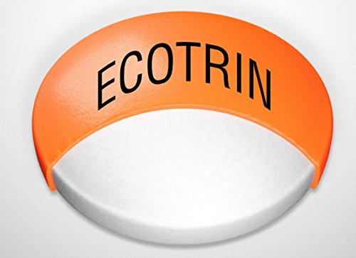 Ecotrin Low Strength Safety Coated Aspirin | NSAID | 81mg | 365 Tablets
